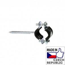 PP-R Хомут металлический (с шурупом) под диаметр трубы 20-25мм, Wavin Ekoplastik, PRK02025XX