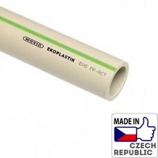 PP-RCT Труба EVO S4/PN22/SDR9 диаметром 40х4,5мм, L=4м, Wavin Ekoplastik, STRE040S4