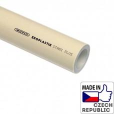 PP-RCT Труба Stabi Plus S3,2/PN28/SDR7,4 диаметром 50х6,9мм, L=4м, Wavin Ekoplastik, STRS050RCT