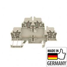 1674300000 Клемма двухуровневая ZDK 2.5, 2,5 мм.кв
