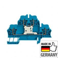 1745880000 Клемма двухуровневая ZDK 2.5V BL, 2,5 мм.кв