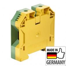 1846040000 Клемма заземления с винтовым зажимом Weidmuller WPE 50, 50 мм.кв