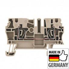 1608510000 Клемма проходная с пружинным соединением Weidmuller WDU 2,5, 2,5 мм.кв