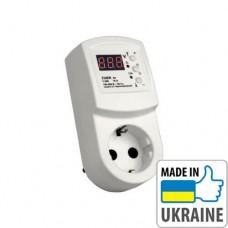 """Реле контроля напряжения типа """"вольт-контроль"""" ZUBR R116у, 16А, 3 кВт"""