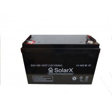 Аккумуляторная батарея SolarX SXA 100-12 (технология AGM)